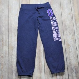 Justice | Girl's Varsity Jogger Sweatpants Size 10